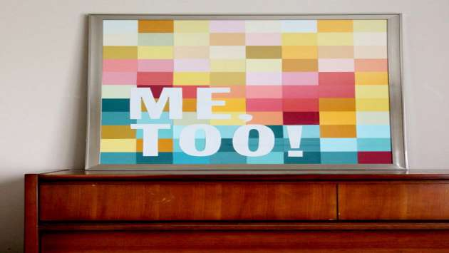 Quadro de post-its