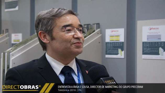 Entrevista a Ávila e Sousa, director de marketing do Grupo Preceram - Tektónica 2016